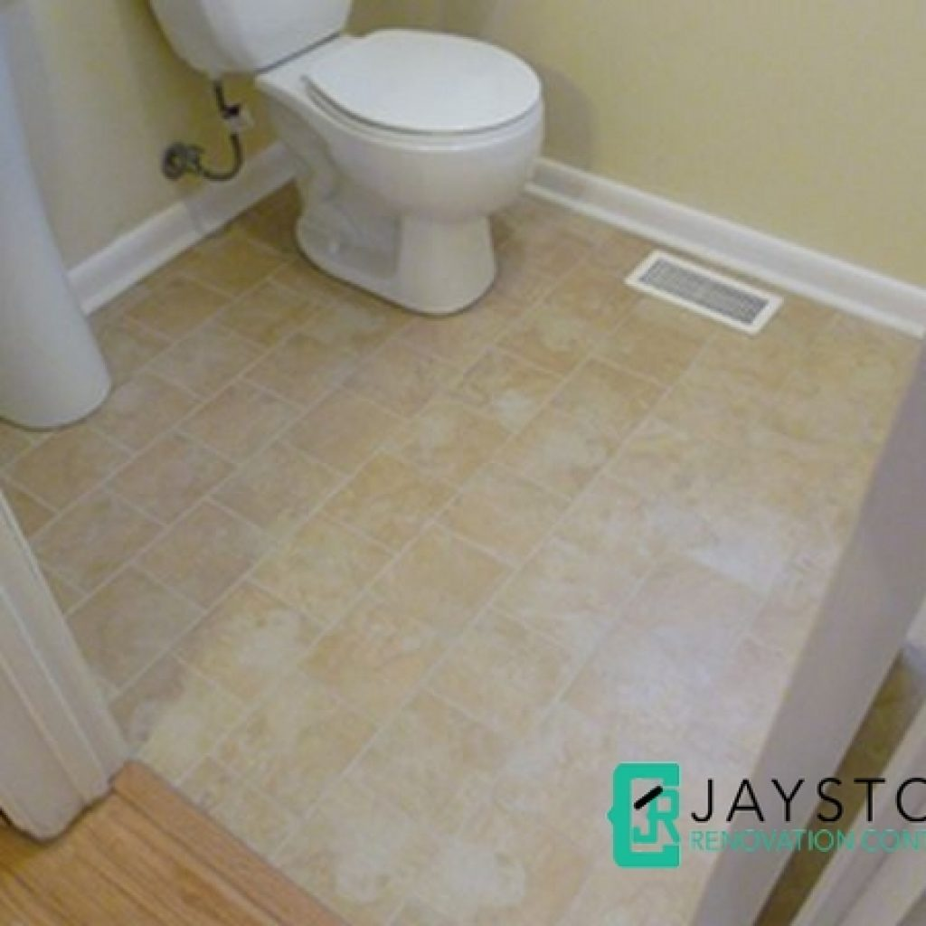 Overlay Floor Tiles Toilet Renovation Singapore Jaystone